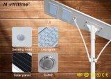 Dispositivo de iluminación al aire libre accionado solar de la luz de calle LED con el sensor 6 vatios - 120 vatios