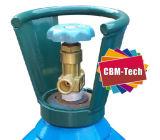 Valvola medica Cga870 di indice analitico O2 di Pin per i cilindri dell'ossigeno respirabile