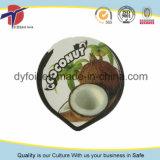 couvercles de papier d'aluminium de 68mm pour la cuvette de yaourt de cachetage