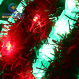 큰 2m LED Merry Christmas Sign Motif LED Green Rope Lights