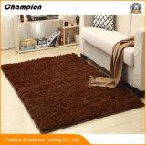 居間のしわ抵抗力がある柔らかい寝室の床のマットのフロアーリングのマットの滑り止めのマット、大きさの居間のカーペットの保護装置のマットのための大きい敷物