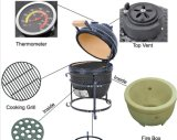 13 Inches Mini Round Charcoal BBQ Grill / Barbecue