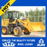 Une grande efficacité 1,6 tonne quatre roues motrices ZL26 Chargeur hydraulique peut être utilisé pour la construction de routes