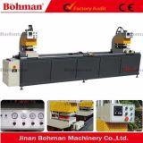 Double machine de soudure principale pour le guichet de PVC et les machines de porte