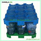 Switches empilháveis de transporte de plástico do balde de água de HDPE palete de embalagem