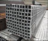 Tubo galvanizado de la INMERSIÓN caliente del acero suave Q235/tubo de acero del cuadrado/tubo