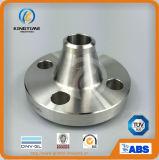 Acero inoxidable ASME B16.5 Weld Neck forjado de brida con certificado TUV (KT0001)