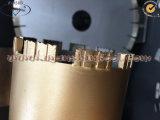 Segmento do diamante do bocado de núcleo de Turbo para o segmento concreto do bocado de broca