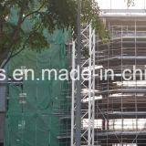 Red de seguridad del PE de la Virgen del andamio de la construcción con el añadido ULTRAVIOLETA (YHZ-SFSN05)