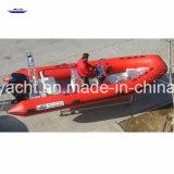 Grosses aufblasbares Aluminiumboots-Aluminiumrippen mit Belüftung-Gefäß für Verkauf