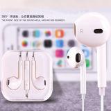 3.5m m Earpods para los auriculares del iPhone de Apple con el Mic y el telecontrol