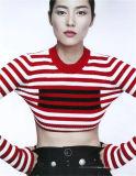 2018명의 새로운 여자의 빨간 지구 편물 스웨터 간결 스웨터 7gg는 도매한다