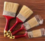 Щетинки щетки краски 2pk естественные и ручка синтетических нитей пластичная