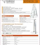 3 scale di alluminio della famiglia della scaletta della scaletta di punto che piegano scaletta multiuso