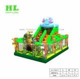 Combinato gonfiabile di tema del pirata del castello rimbalzante gonfiabile animale di Funcity