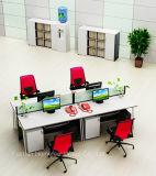 여십시오 내각 (HF-YZQ515)를 가진 디자인 4 Seater 사무실 워크 스테이션 작은 칸막이실을