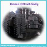 Perfil de aluminio con flexión de perforación perforación anodizado para Maletín