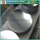 2124prix d'usine un cercle de la plaque en aluminium