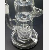 10.2 Zoll-GlasHuka-bohrender Öl-Wiederanlauf-Glaswasser-Rohr