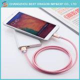 Trançado de nylon Golden 3.0 Tipo de disco rígido C Cabo USB de dados para Smartphone