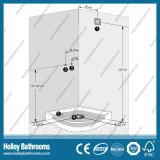 Hot Selling Computer Display Shower Cubicle avec étagère en verre (SR213B)