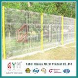 Frontière de sécurité soudée par acier de clôture carrée en acier de treillis métallique d'acier inoxydable de frontière de sécurité
