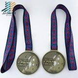 供給の鋳造の記念品のギフトの柔道のロゴの金属のクラフトのカスタム金メダル