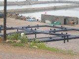 Carré de la pisciculture en cage flottante