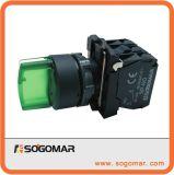 Interruttore di selettore del pulsante del comitato Sp-5as23m5 con il LED