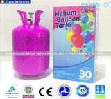 cilindro de gas inflable del globo del helio del tanque del globo del helio de 13.4L 22.4L