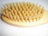 Poignée en bois pour animaux de compagnie Body Cleaning Grooming Brush