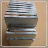 Ímã personalizado do Neodymium do bloco 160*55*40 com chapeamento do zinco