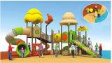 Crianças /Crianças parque infantil exterior de plástico equipamento de Diversões deslize com marcação CE/Certificado ISO