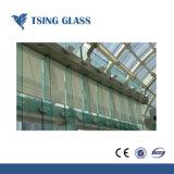 het Duidelijke Aangemaakte Glas van 6mm met Gaten/het de Opgepoetste Randen/Druk/Embleem van de Serigrafie