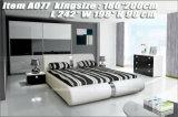 Конструкции кровати самомоднейшей мебели спальни A077 самые последние