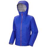 10000m mujer de encargo lluvia chaquetas impermeables con TPU membrana