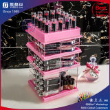 Rose Red Acrylique Makeup and Lipstick Organizer Gloss Organizer
