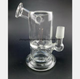 5,5 pouces Filtre du tuyau de verre circulant en verre de tabac pipe
