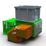 1-й уровень отходов пластика и вырезание из бумаги и перерабатывающая установка