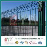 Frontière de sécurité enduite Qym-Galvanisée de maillage de soudure de poudre en acier