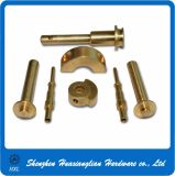 Brass Connector Hardware CNC Turning Usining Mechanical Parts