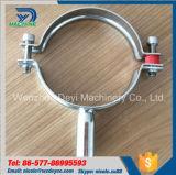 De sanitaire Montage van de Pijp van het Roestvrij staal om de Steun van de Pijp