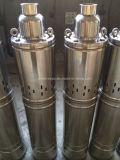 versenkbare Pumpe des Wasser-4qgd, Edelstahl-Wasser-Pumpe