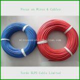 Alambre eléctrico modificado para requisitos particulares diversa especificación del cable de alambre del Teflon