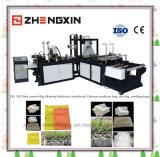 Lacre caliente y bolso no tejido frío del corte que hacen la máquina Zxl-350