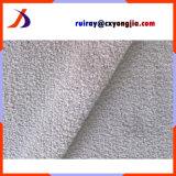 Tissu ordinaire acrylique de peluche de chèvre de cachemire de couleur du polyester 85% de 15%