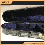 4/4 de tamaño completo de forma triangular de material compuesto de fibra de carbono violín caso