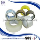 Pegamento acrílico Brown y transparente BOPP embalaje cinta adhesiva