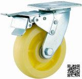 4/5/6/8 Inch Heavy Duty Nylon Caster avec double frein