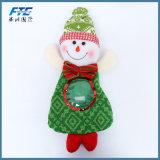 Sac à provisions non-tissé de sucrerie de Noël de poupée de jouet pour le cadeau promotionnel